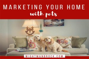marketing your home with pets