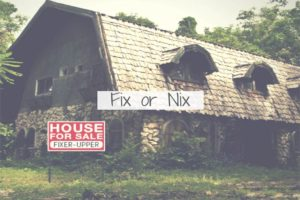 fix or not home